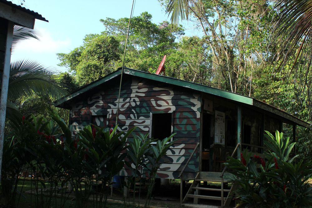 Poste militaire, Réserve naturelle Indio Maíz, Rio San Juan, Nicaragua