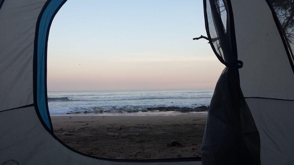 Réveil à Playa Avellanas, Guanacatse, Costa Rica