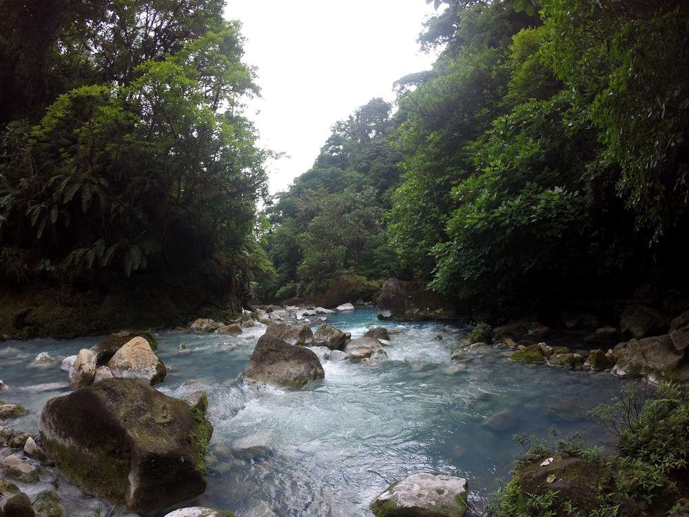 Rio Celeste, Parc National de Tenorio, Guanacaste, Costa Rica
