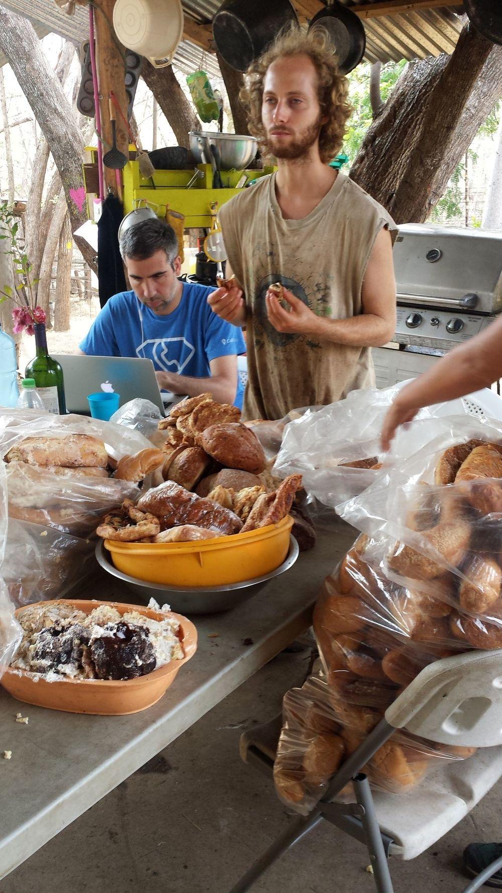 Food sort avec Sam et Antonio, Monkey Farm, Playa Ocotal, Guanacaste, Costa Rica