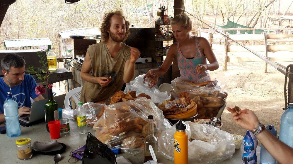 Food sort avec Sam, Michaela et Antonio, Monkey Farm, Playa Ocotal, Guanacaste, Costa Rica