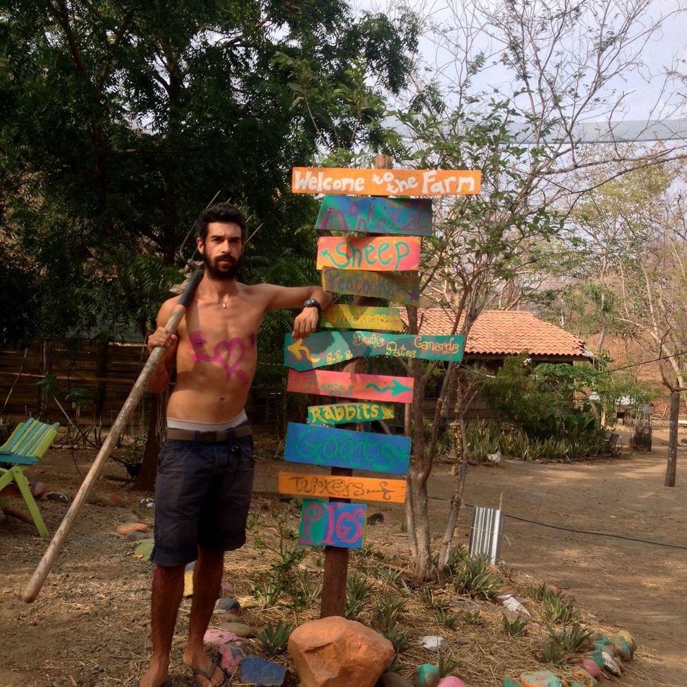 L'amour est à Monkey Farm, Playa Ocotal, Guanacaste, Costa Rica