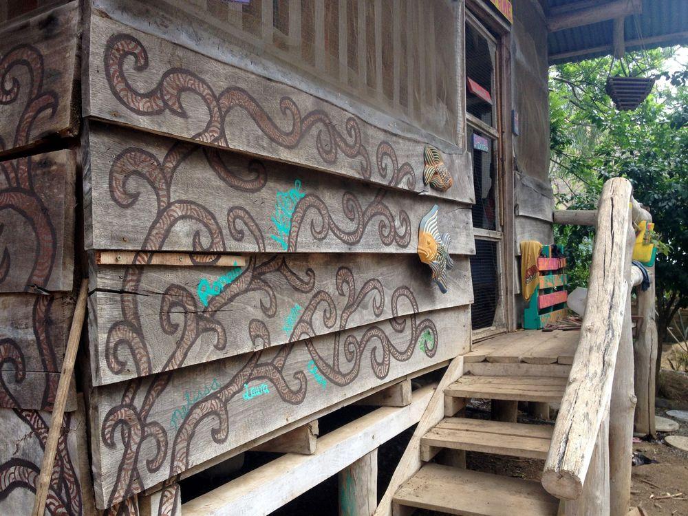 La maison des volontaires, Monkey Farm, Playa Ocotal, Guanacaste, Costa Rica