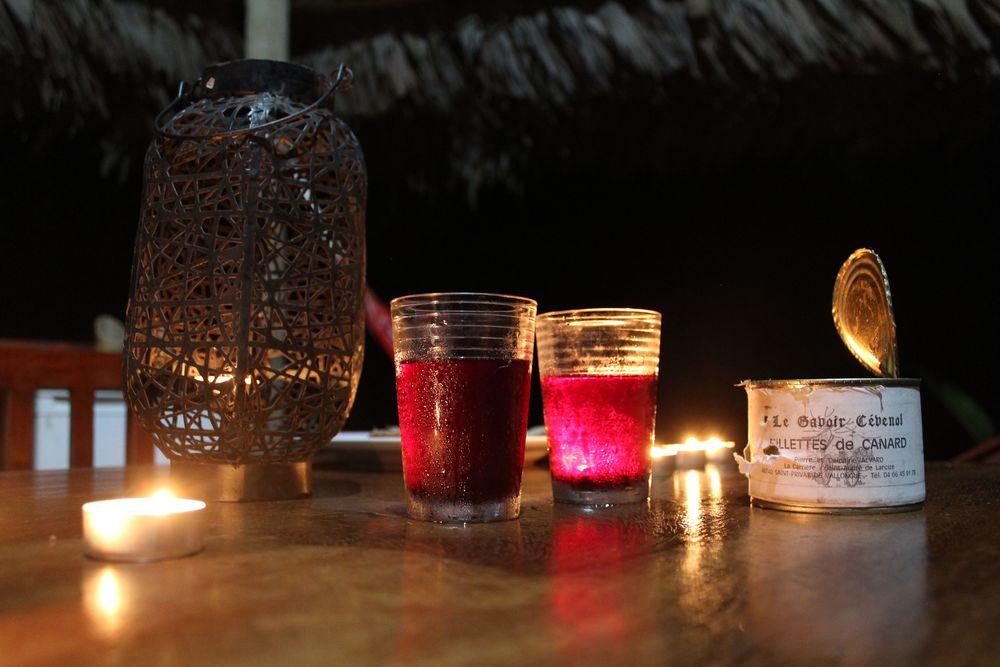 Dîner d'anniversaire au Purruja lodge, Golfito, Puntarenas, Costa Rica