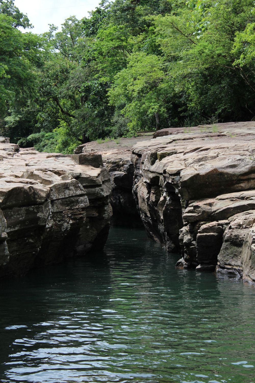 Le canyon de Los Cangilones de Gualaca, Chiriquí, Panama