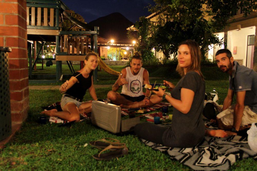 Soirée fondue avec Julie et Alex, El Valle de Antón, Coclé, Panama
