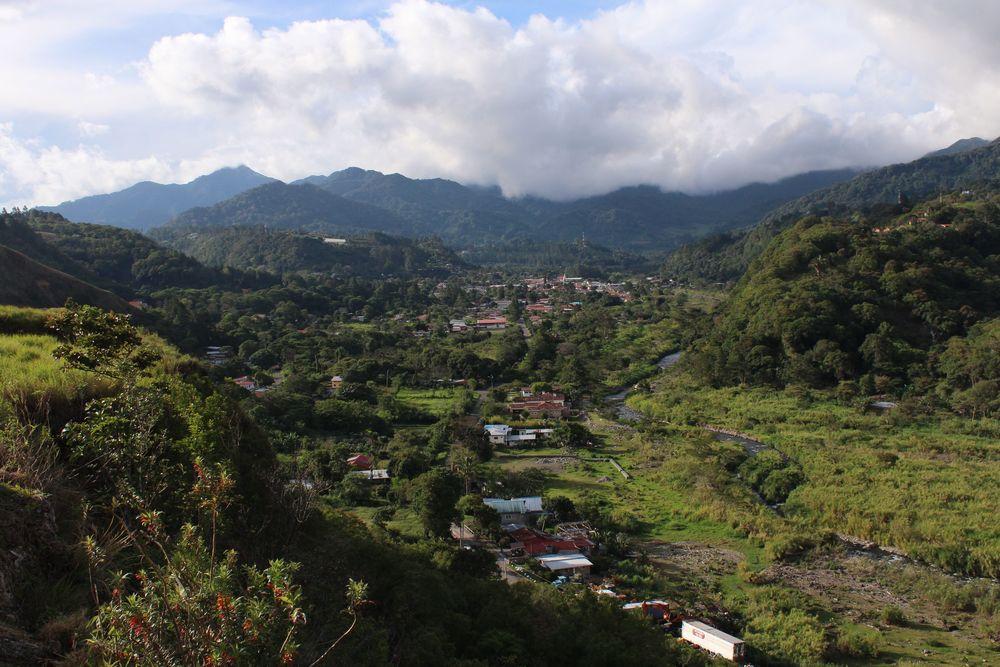Le village de Boquete, Chiriquí, Panama