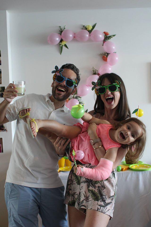 Valentine, Capucine et Simon, Notre chouette famille de Panama City, Panama