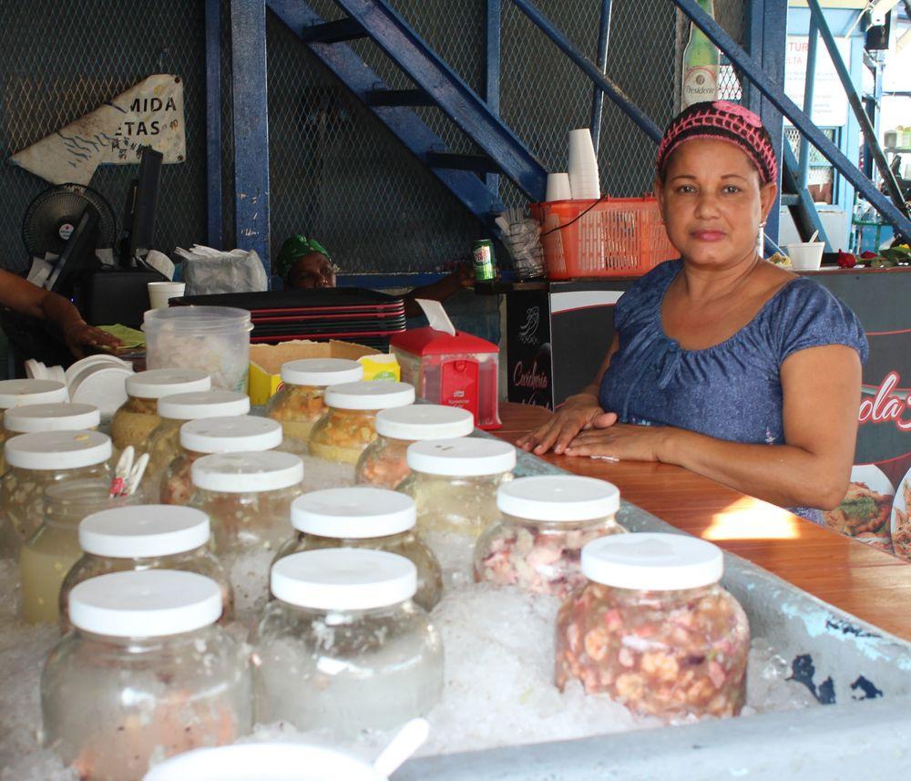 Cevicheria, Marché aux poissons, Panama City, Panama