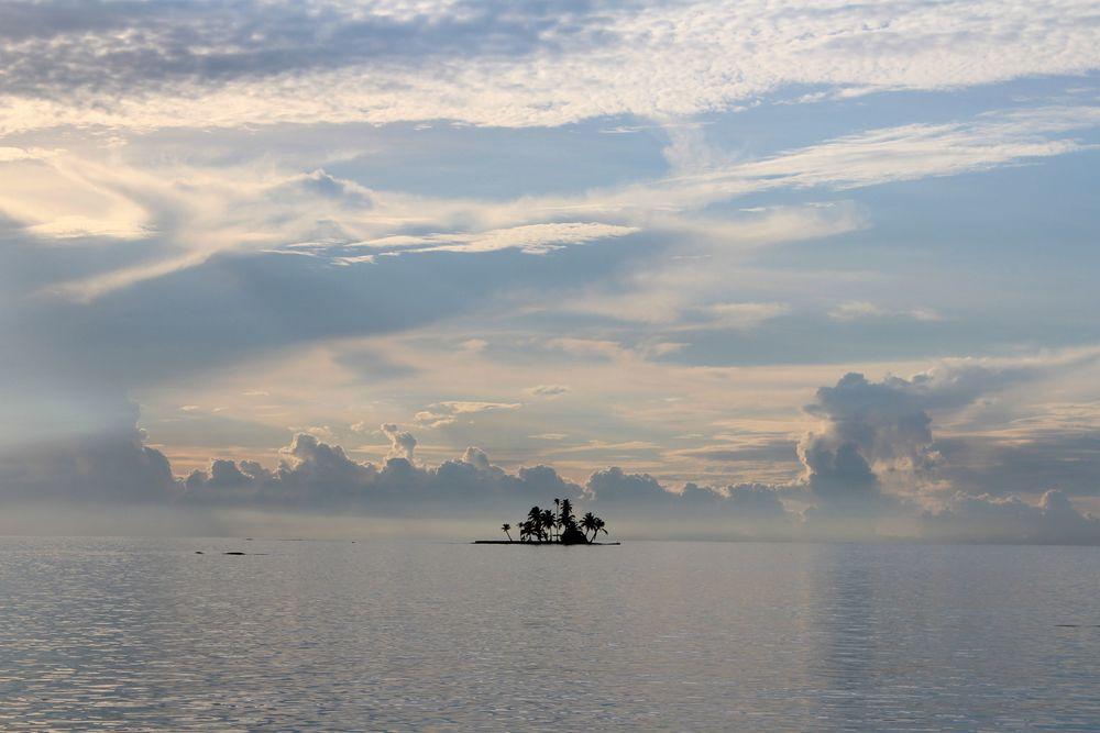 Île déserte, San Blas, Panama