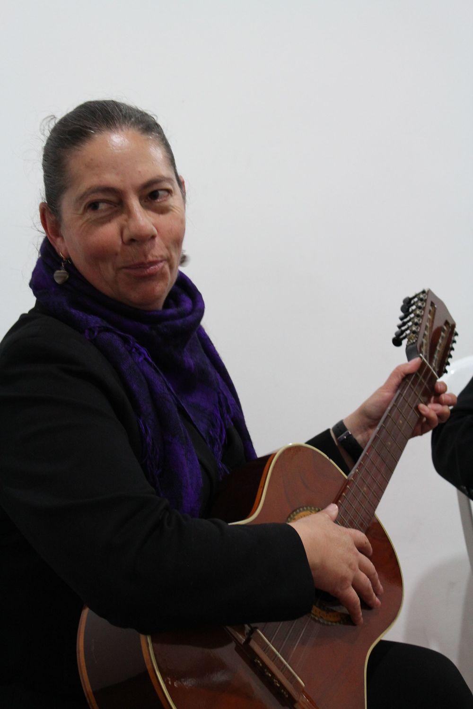 Claudia la femme de Javier, Tunja, Boyacà, Colombie