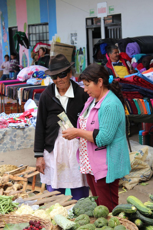 Marché typique de Tunja, Boyacà, Colombie