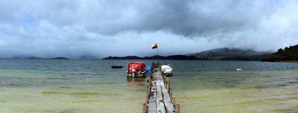 Laguna de Tota, Sogamoso, Boyacà, Colombie