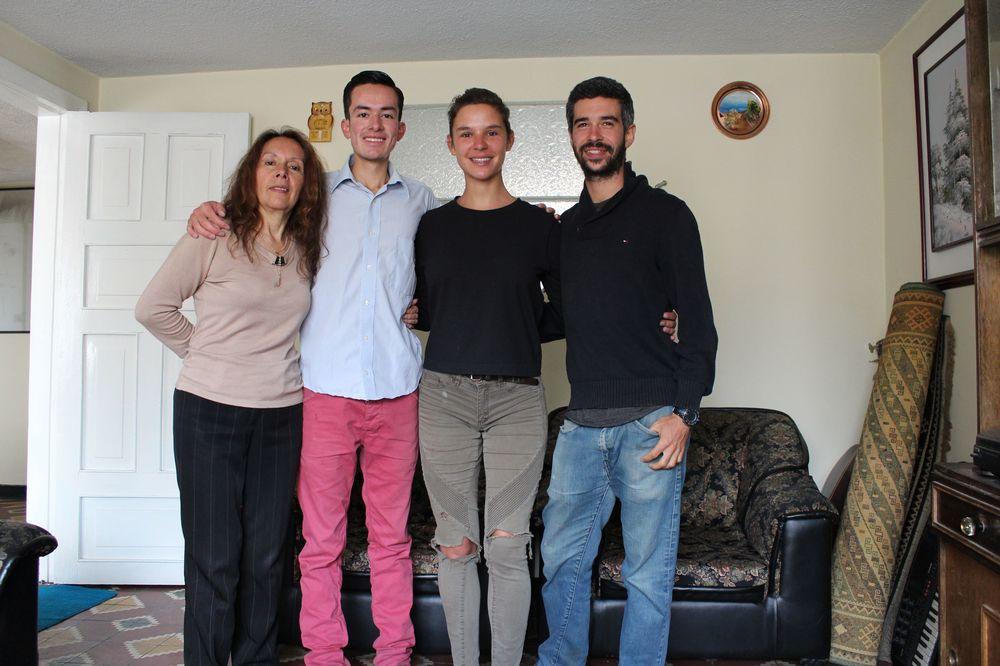 Andrew et sa maman Linda, Sogamoso, Boyacà, Colombie