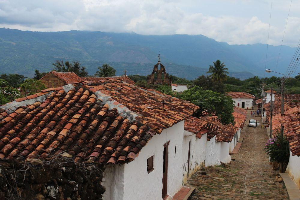 Village de Guane, Santander, Colombie