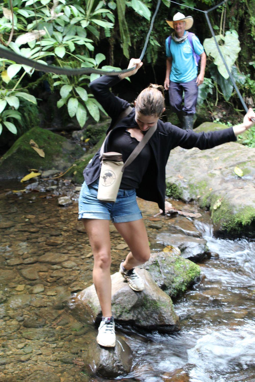 Randonnée à La cueva del Esplendor, Jardin, Antioquia, Colombie