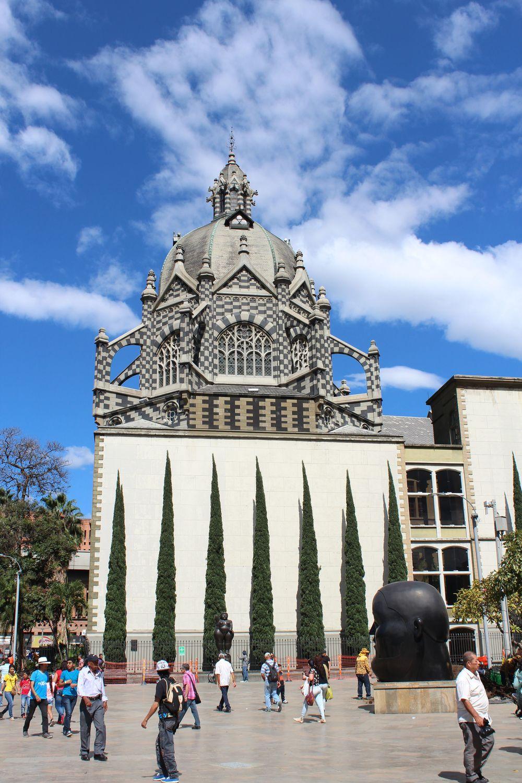 Centre ville de Medellin, Antioquia, Colombie