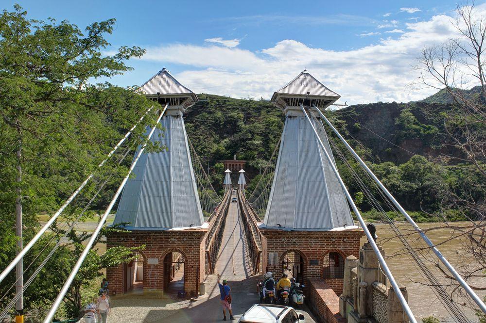 Puente de Occidente, Santa Fe de Antioquia, Antioquia, Colombie