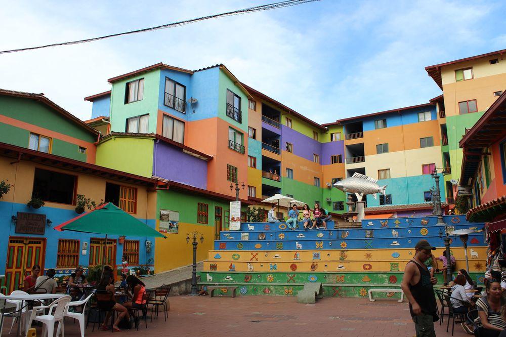 Village de Guatapé, Antioquia, Colombie