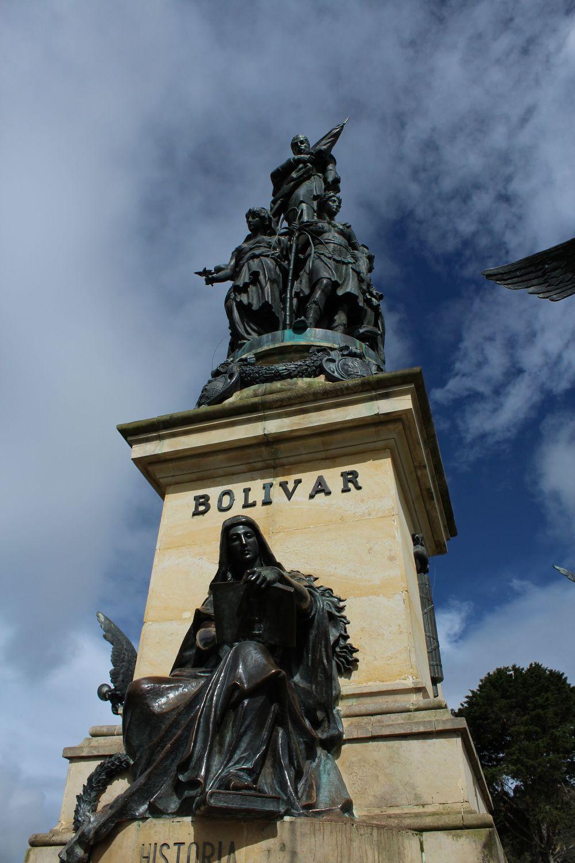 Monument Bolivar, Puente Boyacà, Boyacà, Colombie