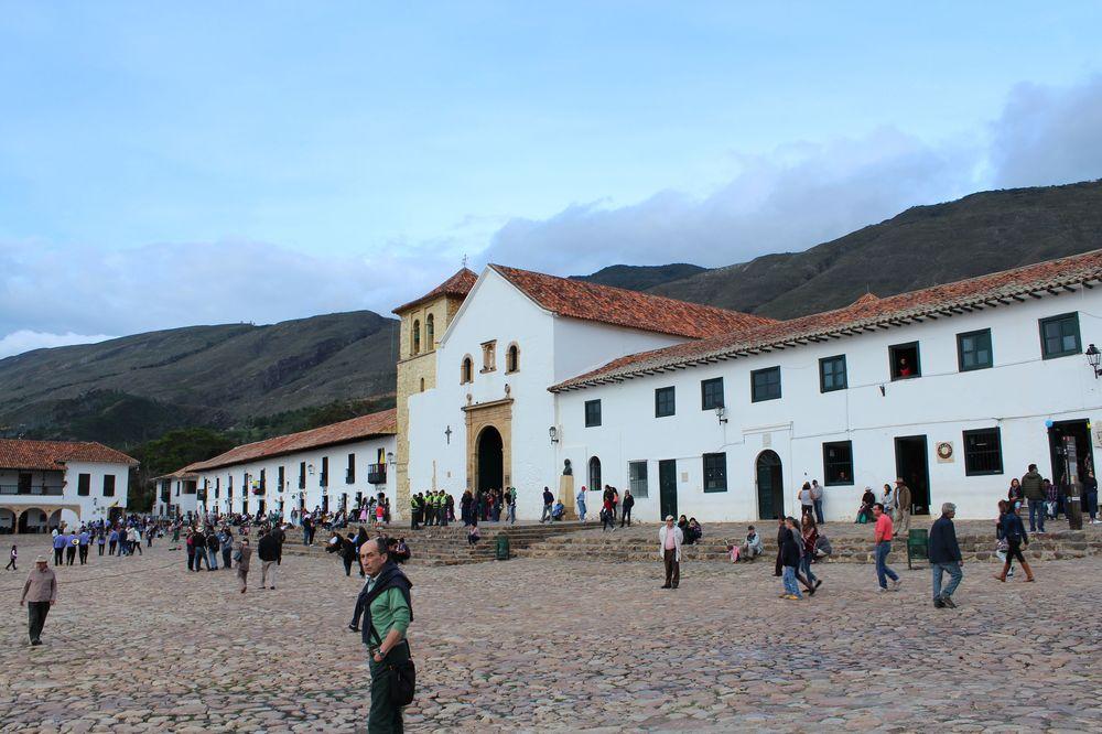 Place principale, Villa de Leyva, Boyacà, Colombie