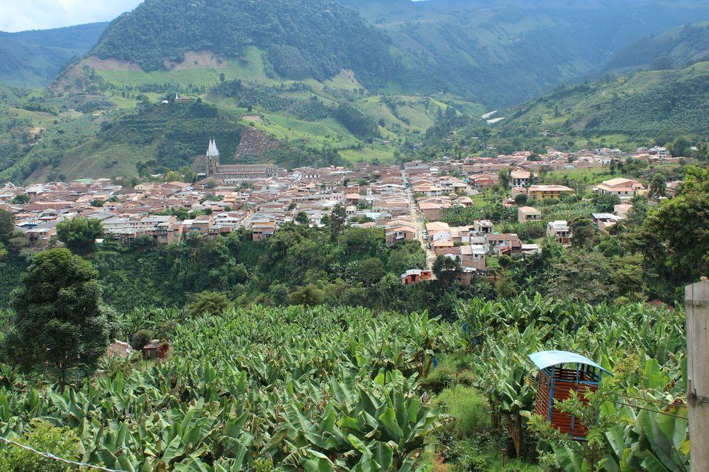 Le téléférique de Jardin, Antioquia, Colombie