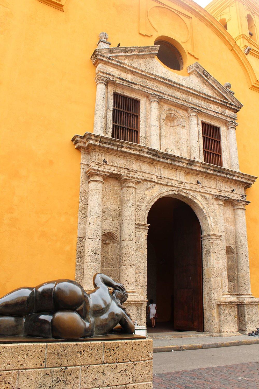 Sculpture de Botero, Carthagène, Bolivar, Colombie