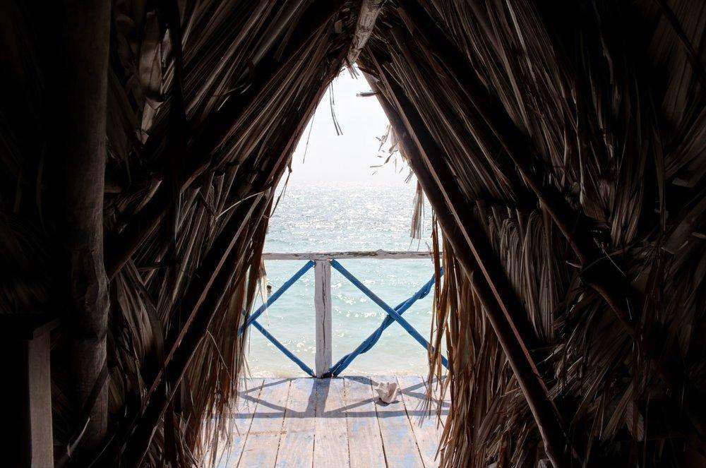 Playa Blanca, Baru, Bolivar, Colombie