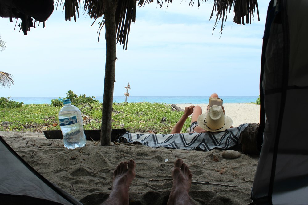 Instant Chill, Playa Castilettes, Parque Tayrona, Magdalena, Colombie