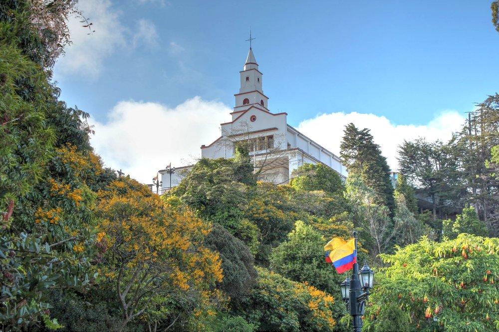 Cerro  Monserrate, Bogotá, Distrito Capital, Colombie