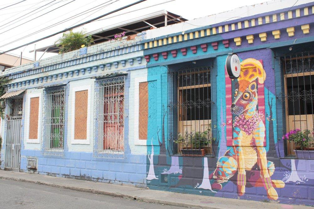 Dans les rues de Cali, Valle de Cauca, Colombie