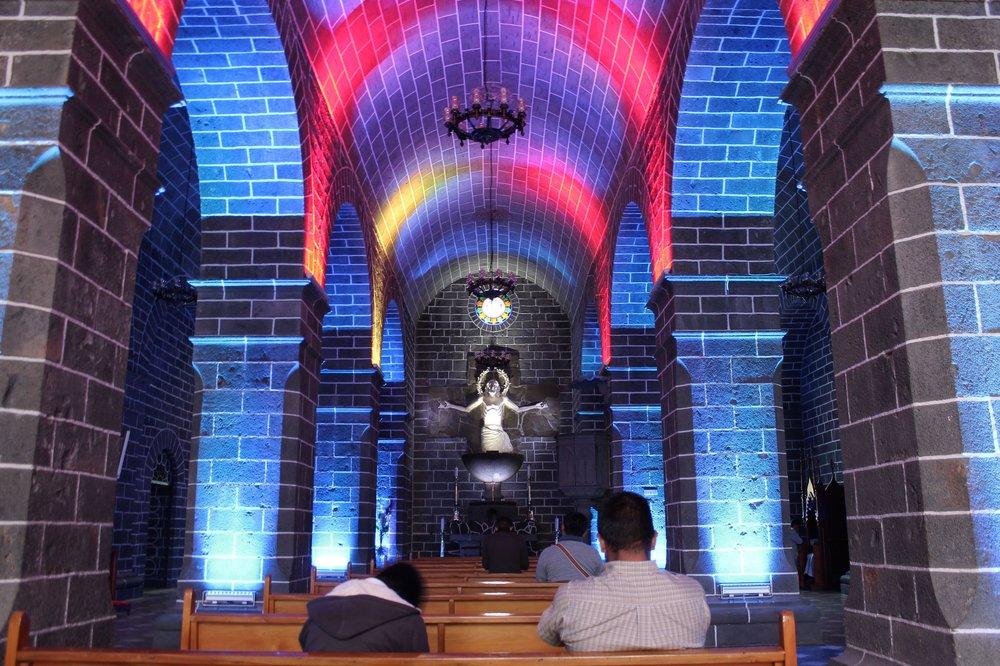 Cathédrale de las Lajas, Ipiales, Narino, Colombie