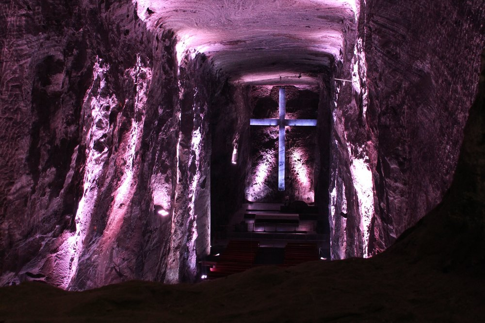 Cathédrale de sel, Zipaquirá, Cundinamarca, Colombie