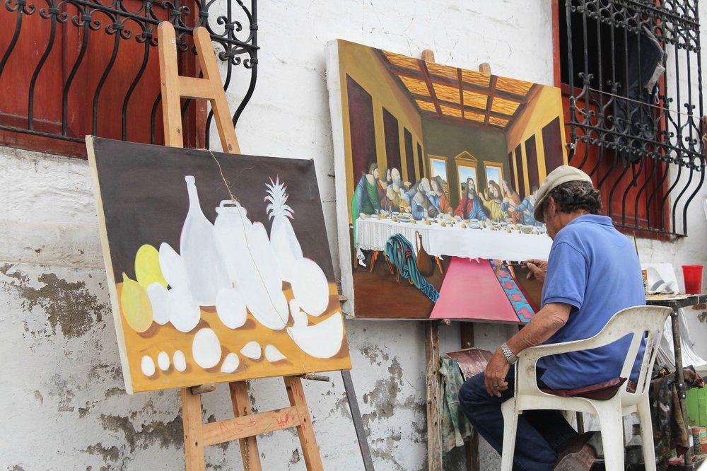 Peintre, Cali, Valle de Cauca, Colombie
