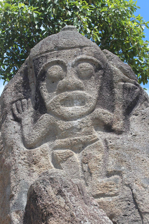 Pierres tombales, San Agustín, Huila, Colombie