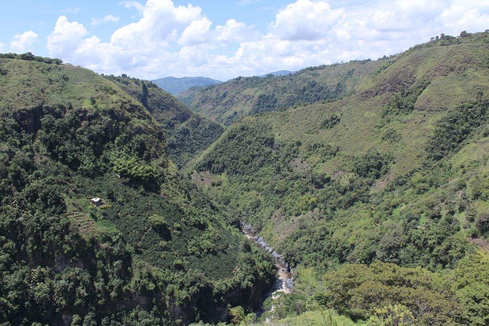 Canyon de San Agustín, Huila, Colombie
