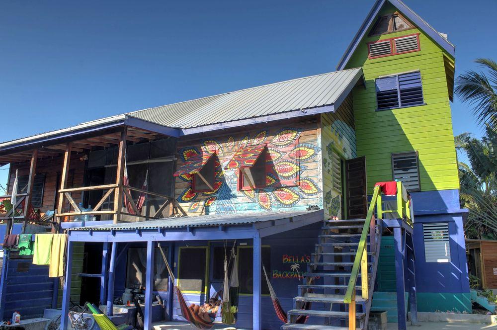 Bella's hotel, Caye Caulker, Belize