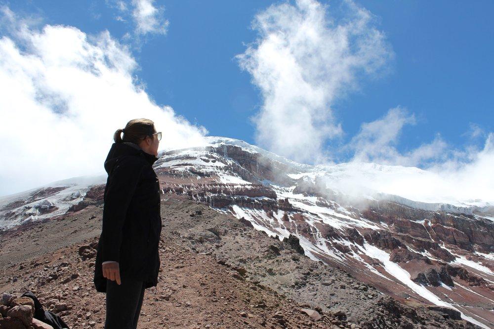Volcan Chimboraz, Chimborazo, Equateur