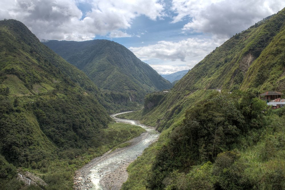 Ruta de las Cascadas, Banos, Tungurahua, Equateur