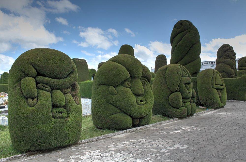 Cimetière de José María Azael Franco Carranco, Tulcán, Carchi, Equateur