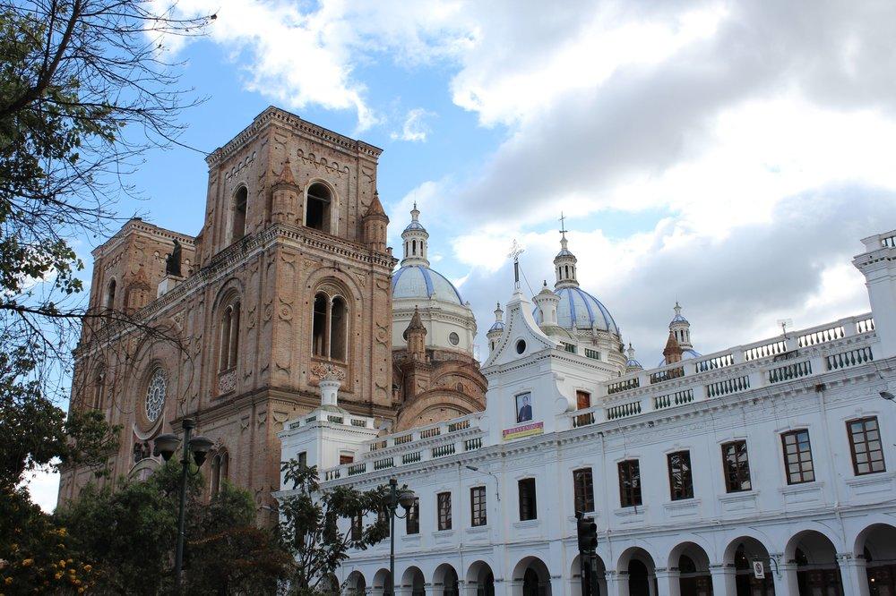 Cathédrale de Cuenca, Azuay, Equateur