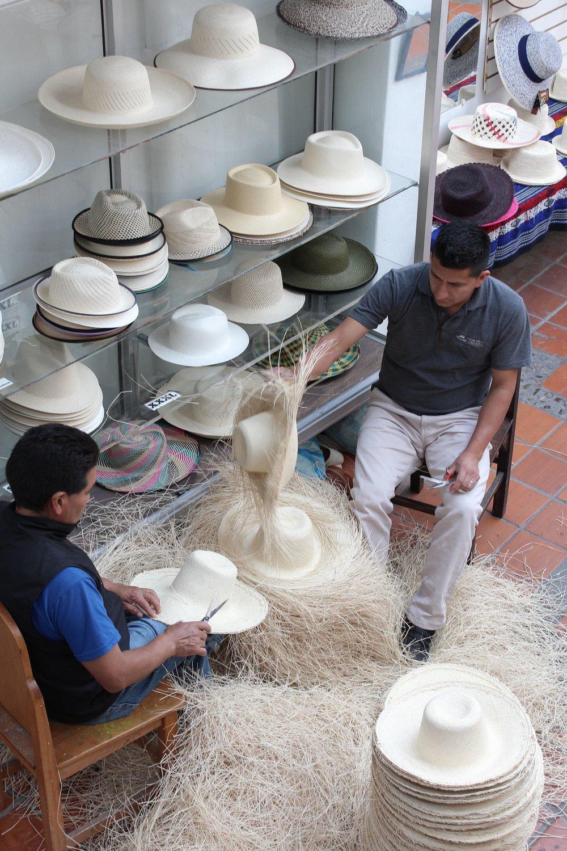Musée du sombrero, Cuenca, Azuay, Equateur