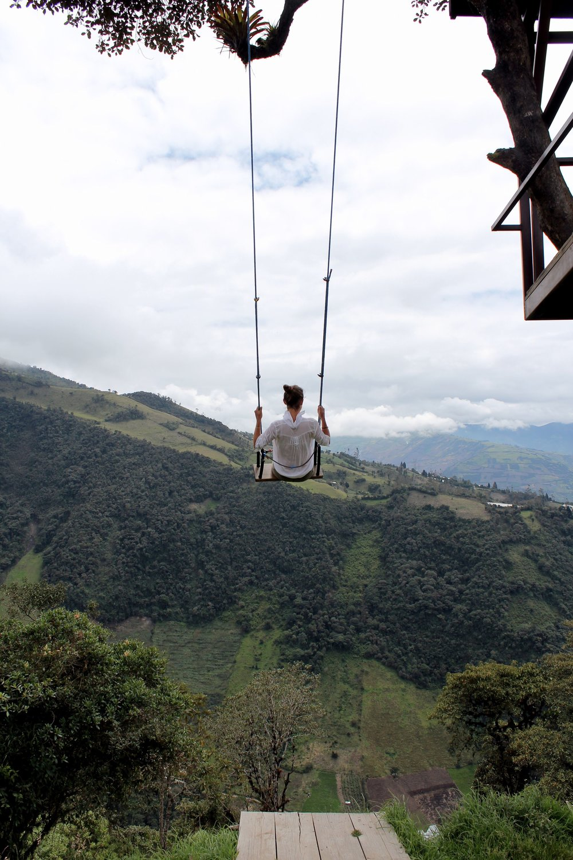Casa del Arbol, Banos, Tungurahua, Equateur
