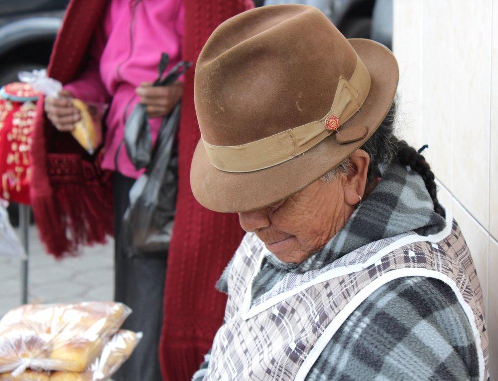 Marché de Saquisili, Cotopaxi, Equateur