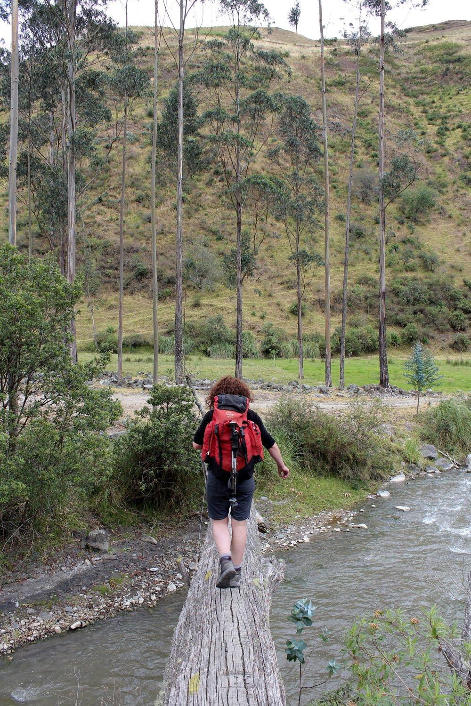 Céline, Quilotoa loop, Cotopaxi, Equateur