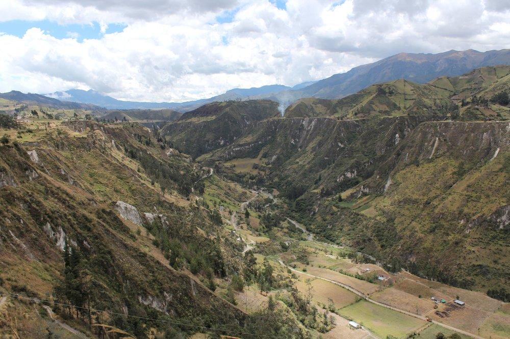 Canyon de Toachi, Quilotoa loop, Cotopaxi, Equateur