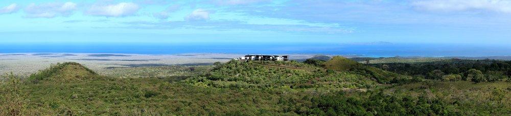 Au sommet du Cerro Mesa, Isla Santa Cruz, Ecuador