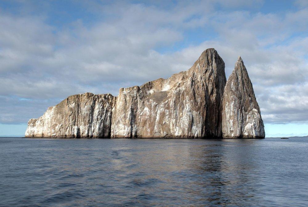Rocher Leon Dormido, Archipel des Galapagos, Ecuador