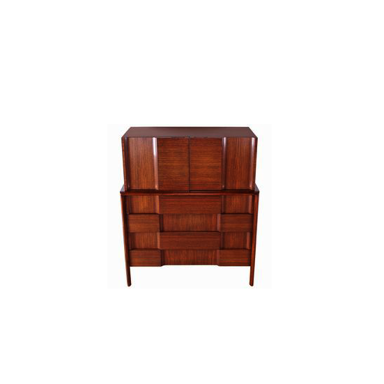 Edmund Spence 1950 Walnut Dresser (Sweden)