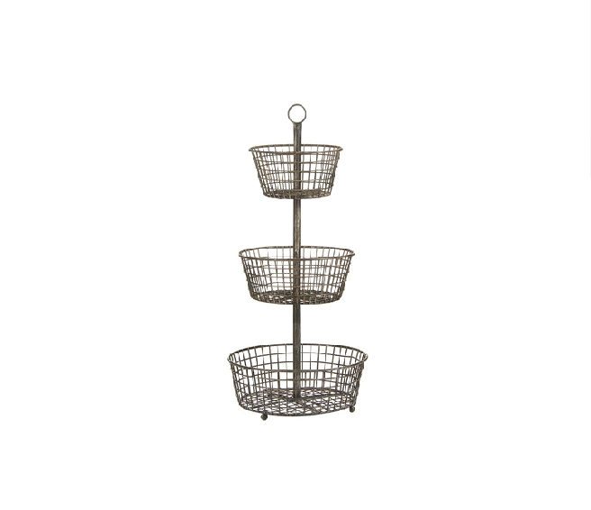 3 Tier Wire Baskets